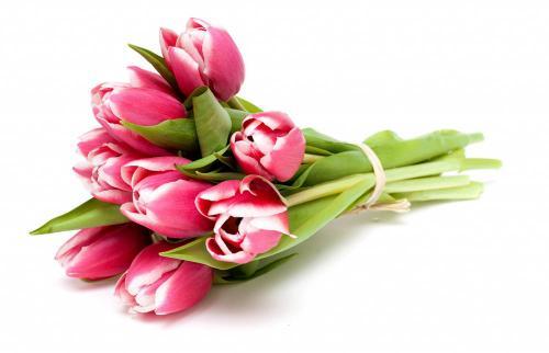 Розово-белые